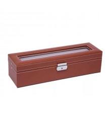 Óratartó doboz 6 óra számára - Világos barna