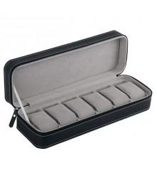Óratartó doboz 6 óra számára - Fekete